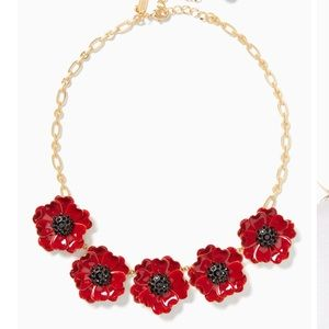 """Just in! 🆕 NWT KS """"Precious Poppies"""" Necklace"""